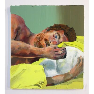 Hilary Doyle, 'In bed', 2016