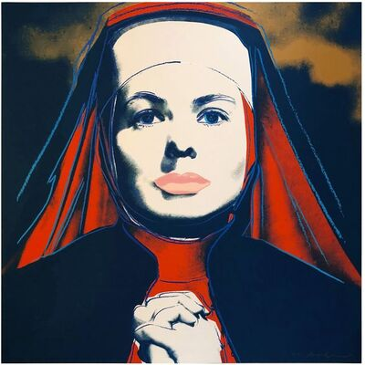 Andy Warhol, 'The Nun, from Ingrid Bergman (F&S IIB 314)', 1983