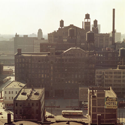 Mario Carnicelli, 'Factories, Washington', 1966