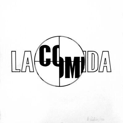 Margarita Paksa, 'La Comida', 1976