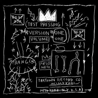 Jean-Michel Basquiat, 'Basquiat Beat Bop Record Art (anniversary edition)', 2014