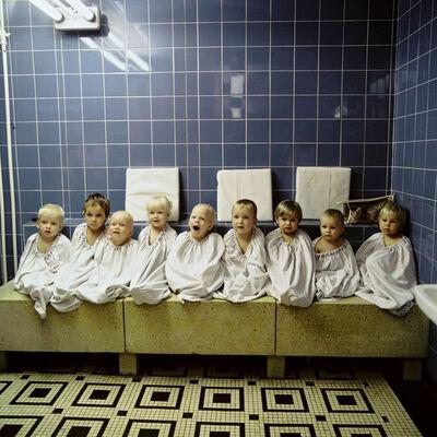 Thomas Billhardt, 'Im Ruheraum nach der Sauna', 1988