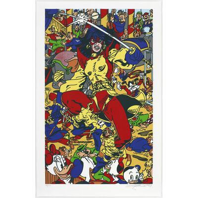 Erró, 'La femme fatale V', 1993