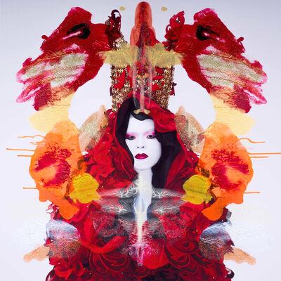 Kimiko Yoshida, 'Rorschach Yoshida LXXXIII (Isabel de Porcel)', 2018