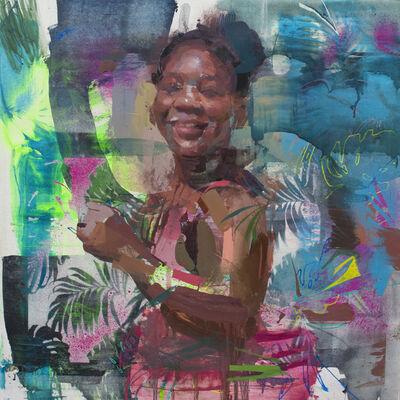 Jose Luis Ceña, 'She blurs', 2020