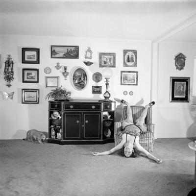 Meryl Meisler, 'Self-Portrait, A Falling Star, North Massapequa, NY', January 1975