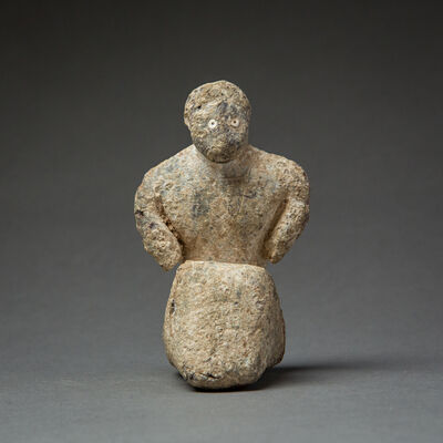 Unknown Bactrian, 'Bactria-Margiana Lead Figure', 3000 BC to 2000 BC