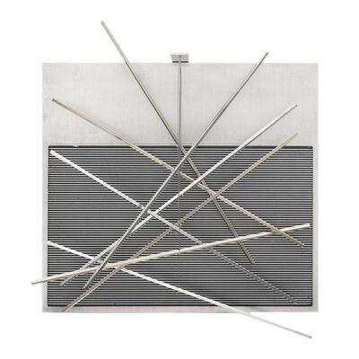 Jesús Rafael Soto, 'Vibrations Metalliques', 1969