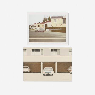 Robert Bechtle, 'Car No. 3 and '68 Nova (two works)'