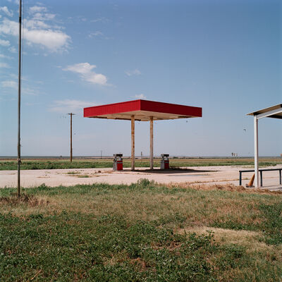 Allison V. Smith, 'Unleaded. Old Glory, Texas', 2016