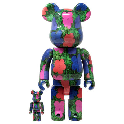 BE@RBRICK, 'ANDY WARHOL - FLOWERS 400% & 100%', 2020