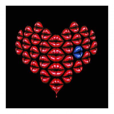 Otto Schade, 'Love Kiss Blue', N/A