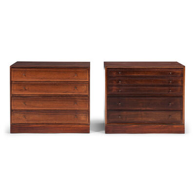 Ole Wanscher, 'A pair of drawer cabinets', 1959