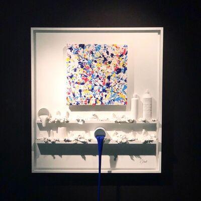 Paul Sibuet, '(ATH) Flow - Jackson Pollock', 2018