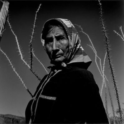 Graciela Iturbide, 'Mujer Seri, Desierto de Sonora', 1979