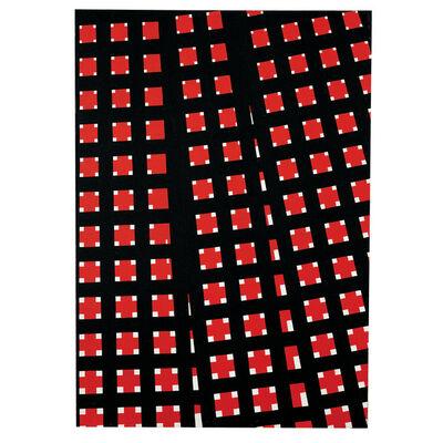 Mario Nigro, 'Spazio totale: divergenze in rosso', 1959