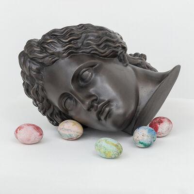 Paulo Nimer Pjota, 'deus com ovos', 2018