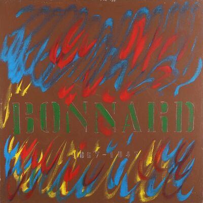 Tano Festa, 'Bonnard', 1981