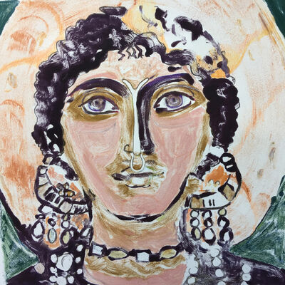 Christine Palamidessi - Icons & Talismans, installation view