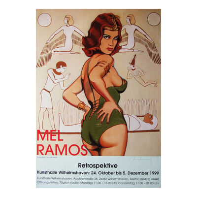 Mel Ramos, 'Nile Queen Exhibition Poster Signed', 1999