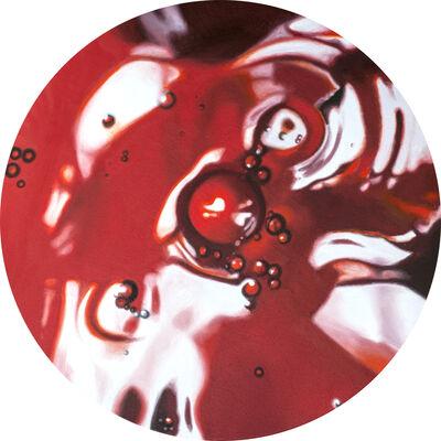 Philippe Huart, 'Cadmium Rouge Vertige (Vortex 16)', 2019