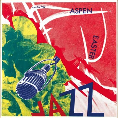 James Rosenquist, 'JAZZ ASPEN EASTER 1967', 1967
