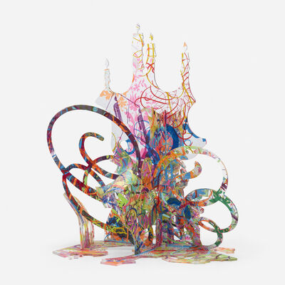 Ryan McGinness, 'Untitled (Sculpture Study 2)', 2009