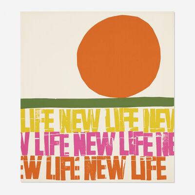 Corita Kent, 'life—new life', 1966