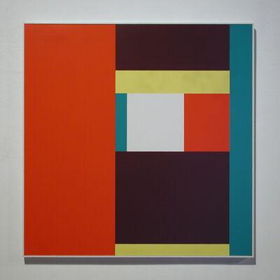 Camille Graeser, 'bewegung um ein exzentrum', 1958/1971