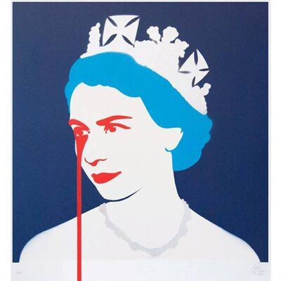 Pure Evil, 'Prince Philip's Nightmare (Blue)', 2014
