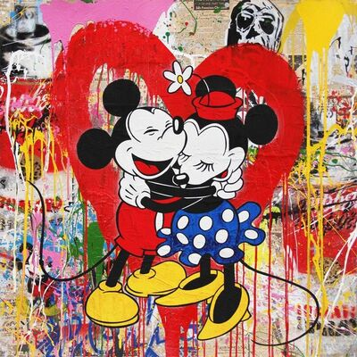 Mr. Brainwash, 'Mickey and Minnie, 2017'