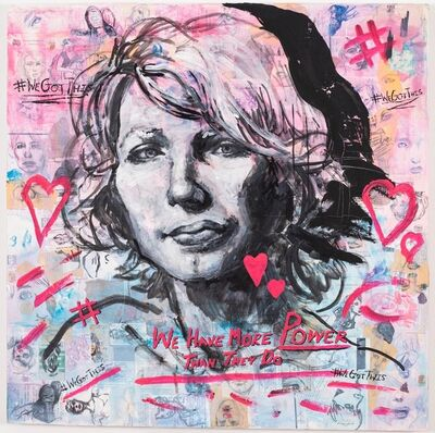 Molly Crabapple, 'Annotated Muse (Chelsea Manning)', 2019