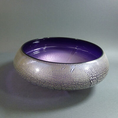 David Thai, 'Round Wave Bowl Purple', 2019