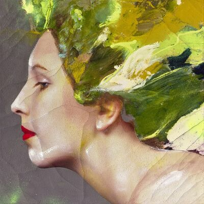 Lita Cabellut, 'Color of Dew 20', 2015