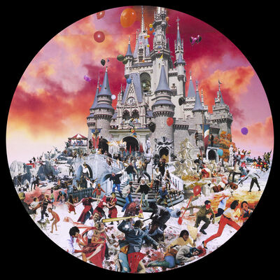David Mach, 'Hell - Disneyland', 2011