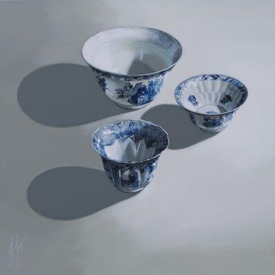 Sasja Wagenaar, '3 bowls in the Light', 2018