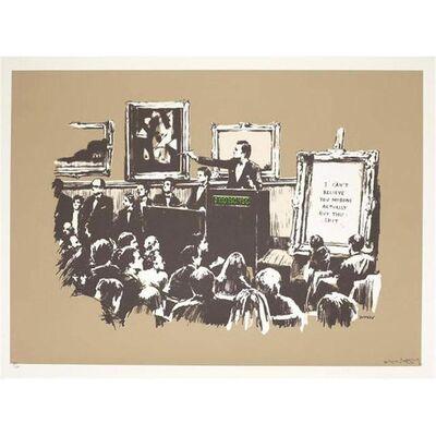 Banksy, 'Morons ', 2006
