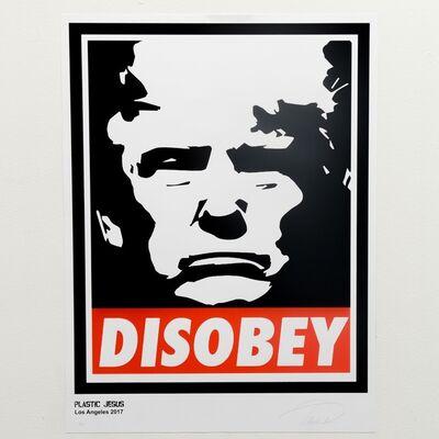 Plastic Jesus, 'Disobey', 2017