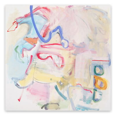 Gina Werfel, 'Cloak  (Abstract Expressionism painting)', 2009