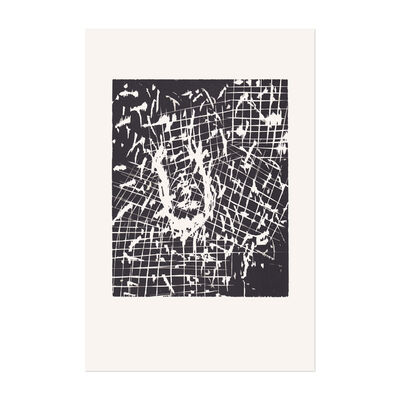 Georg Baselitz, 'Dresdner Frau V', 1990