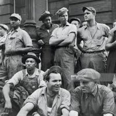 Morris Engel, 'Dockworkers', 1948
