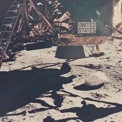 Neil Armstrong, 'Lunar module descent stage', 1969