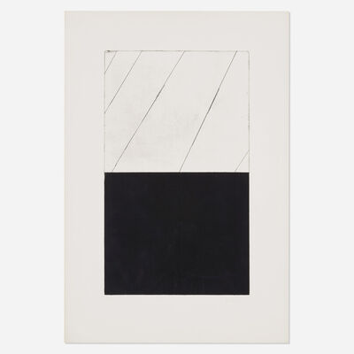 Brice Marden, 'Untitled (from Adriatics portfolio)', 1973