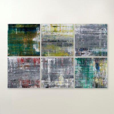 Gerhard Richter, 'Cage Prints (portfolio of 6), Clockwise: Cage P19-1, Cage P19-2, Cage P19-3, Cage P19-4, Cage P19-5, Cage P19-6 ', 2020