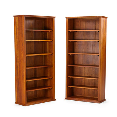 Thomas Moser, 'Pair of tall bookcases', 1997