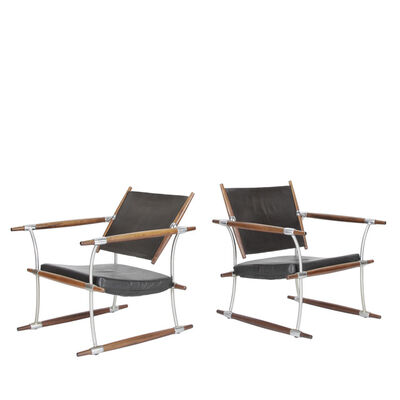 Jens H. Quistgaard, 'Pair of Safari chairs', 1965