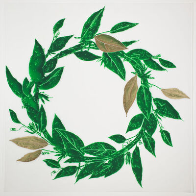 René Treviño, 'Laurel Wreath', 2013