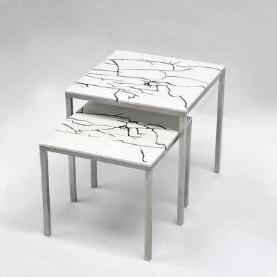 Thomas Lemut, 'Gigognes.Olympia.43+38  - Nesting Coffe table ', 2020