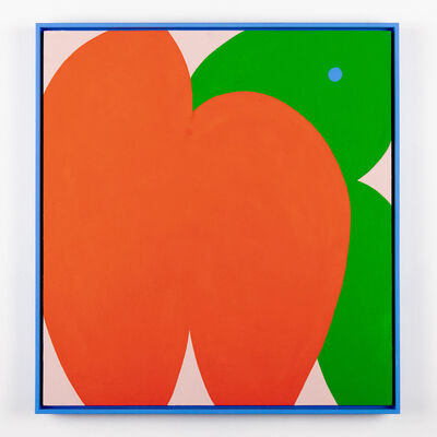 Evi O, 'A Ripe Giant Peach', 2019