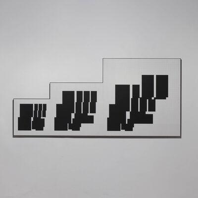 Attila Kovács, 'drei metrische sequenzen P3-A', 1973-76